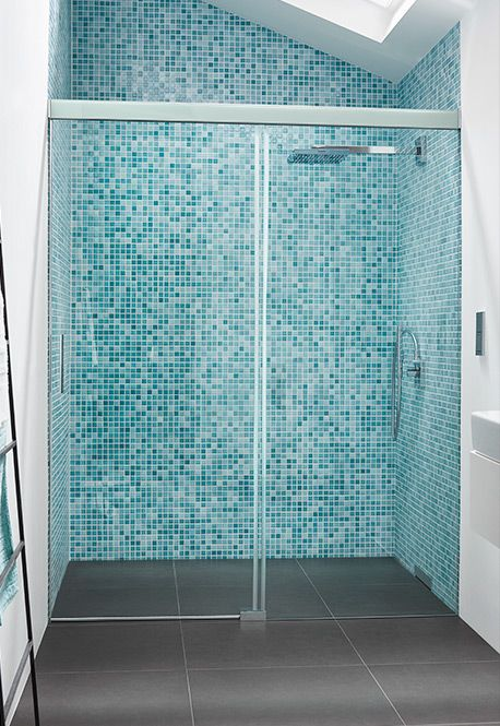 Koralle S600 Plus / S606 Plus sliding door shower