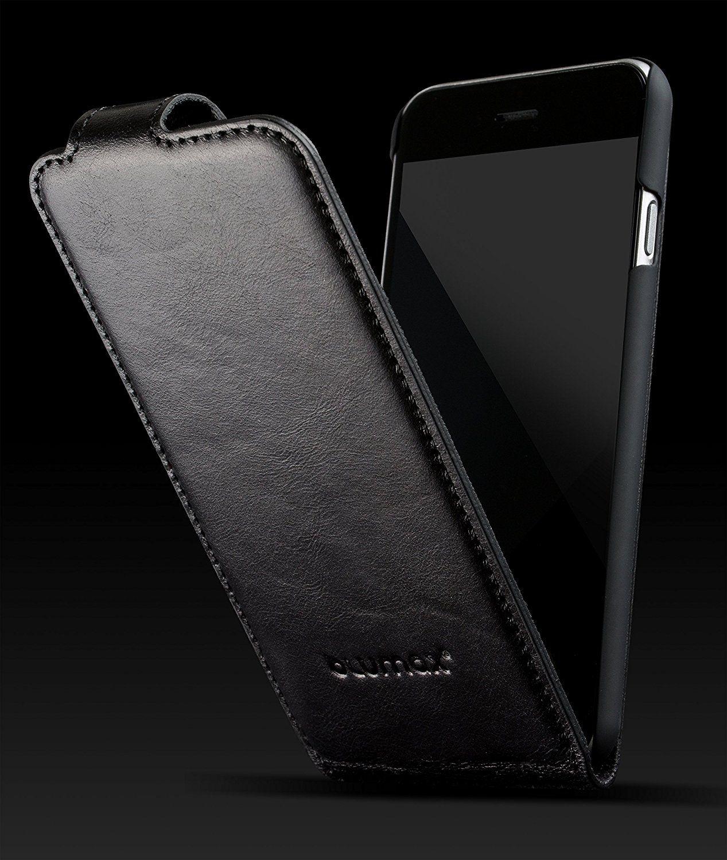 Blumax Iphone 6 6s Ledertasche Flip Case Echtleder Amazon De Elektronik Stuff To Buy Iphone 5 Drawing Tips