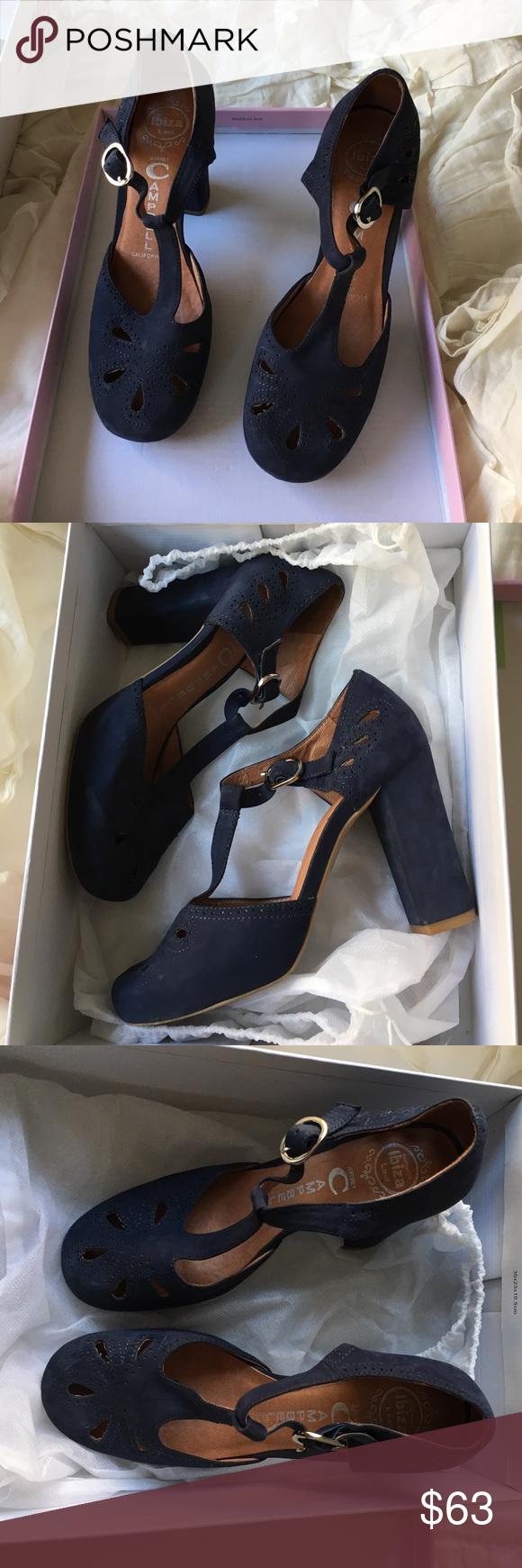 Jeffrey Campbell Maisie Navy Nubuck Jeffrey Campbell Maisie Navy Nubuck Handmade Ibiza Last size 6 Jeffrey Campbell Shoes Heels