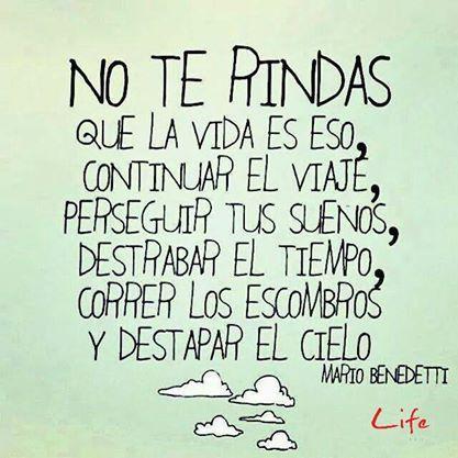 Life - ¡ No te Rindas !