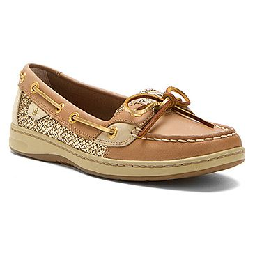 Shop Women's Sperry Top-Sider Gold Tan size 7 Flats & Loafers at a  discounted price at Poshmark.