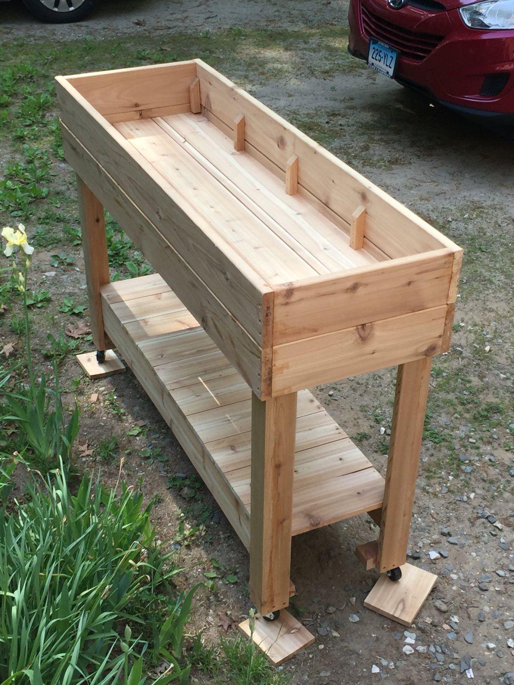 Cedar was it high raised bed Wood pallets, Wood pallet
