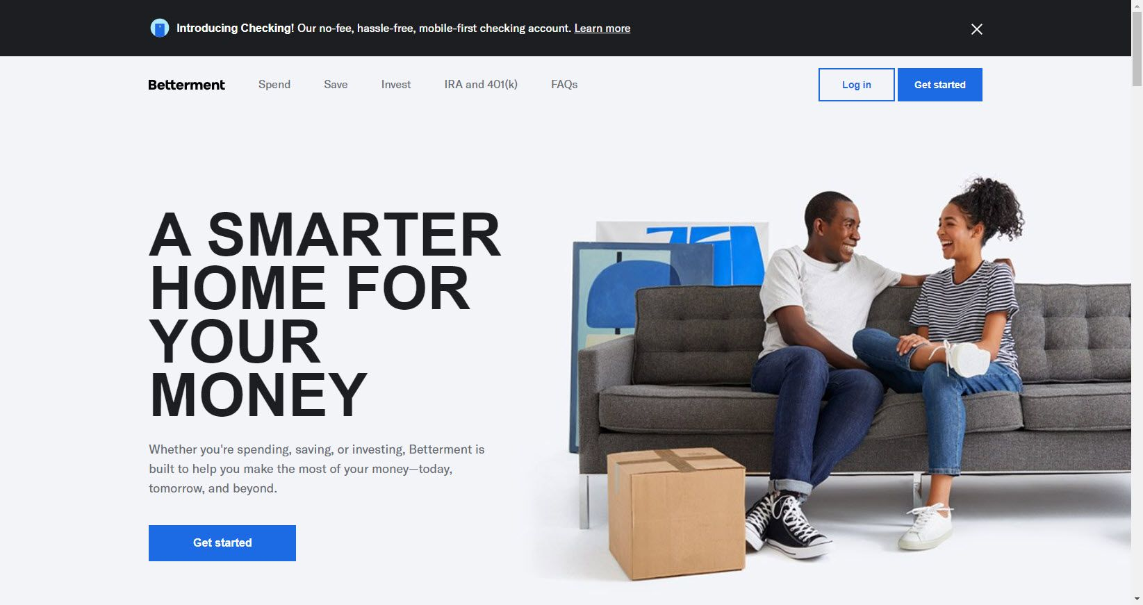Betterment In 2020 Smart Money Investing Cash Management