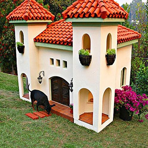 Mexican Hacienda Luxury Dog Mansion 17 000 With Images Cool