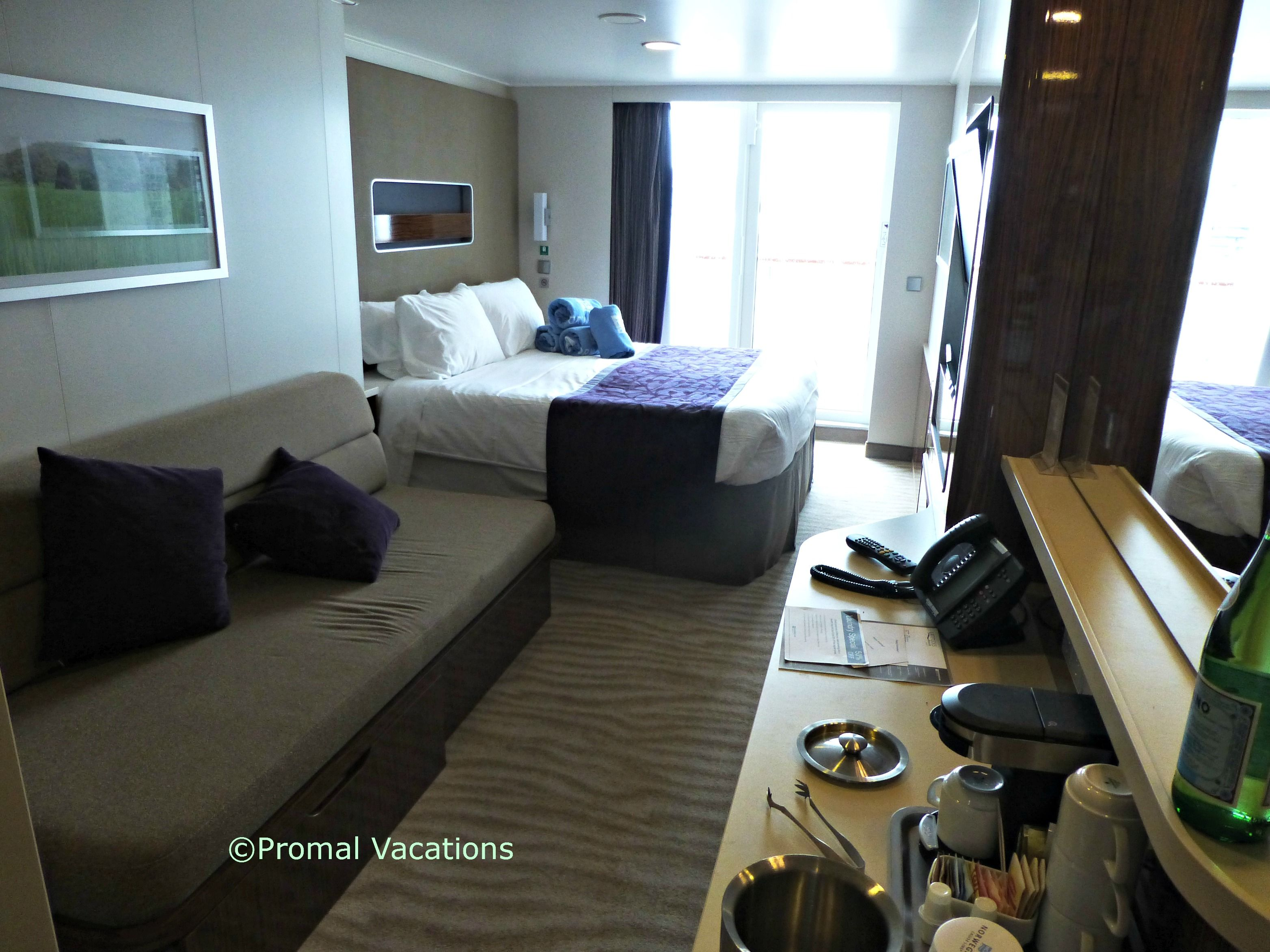 Mini Suite with Balcony Cabin 11828 Call Promal Vacations at 516 ...