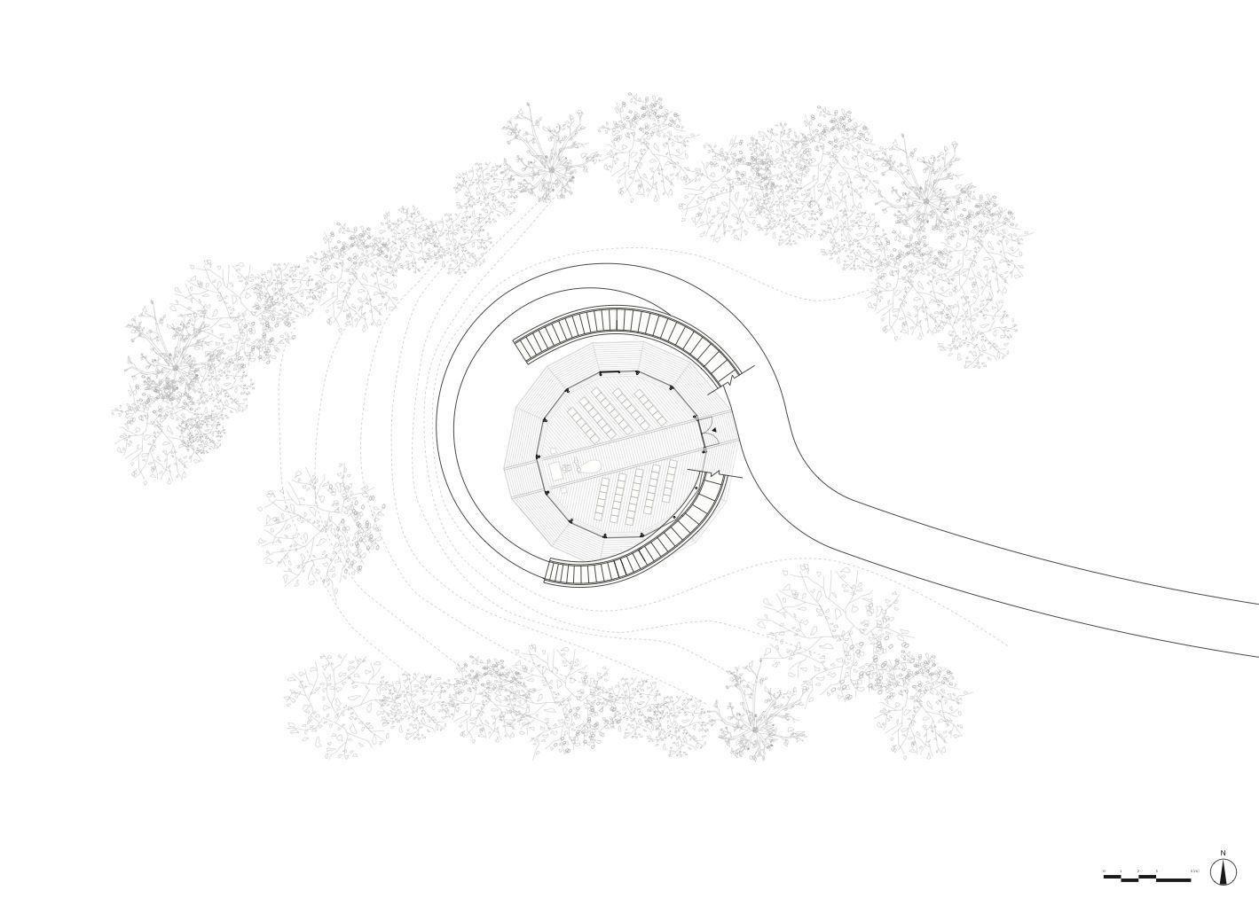 Galeria - Capela Espiral / NAP Architects - 22