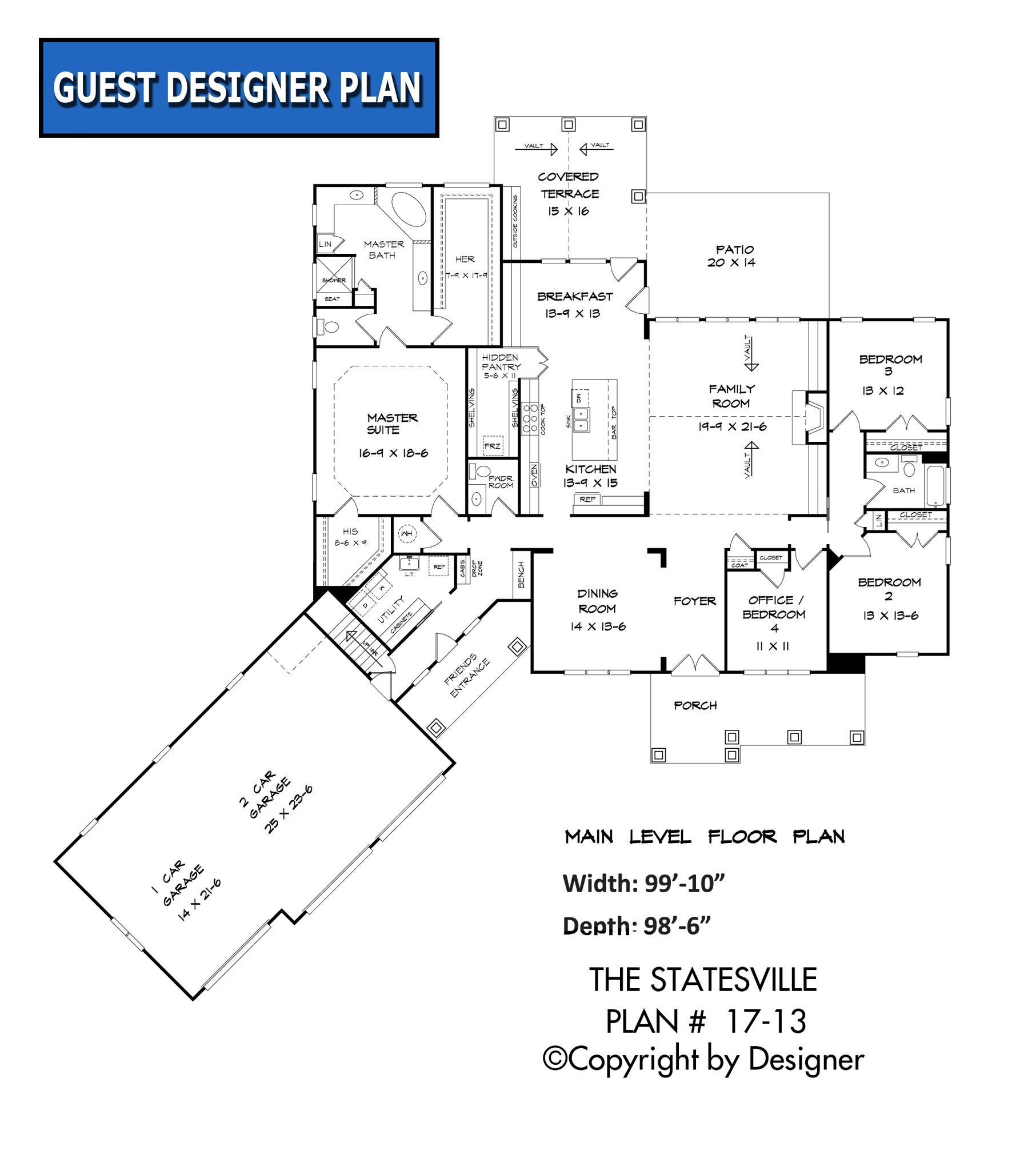 statesville house plan 17 13 garrell associates inc