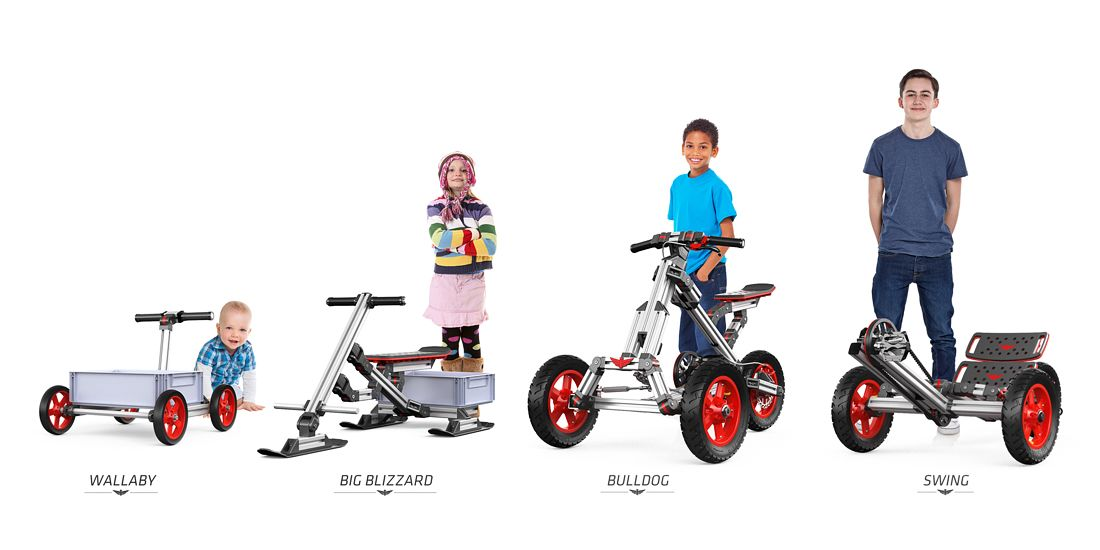 Infento World S First Real Constructible Rides Kids Bike