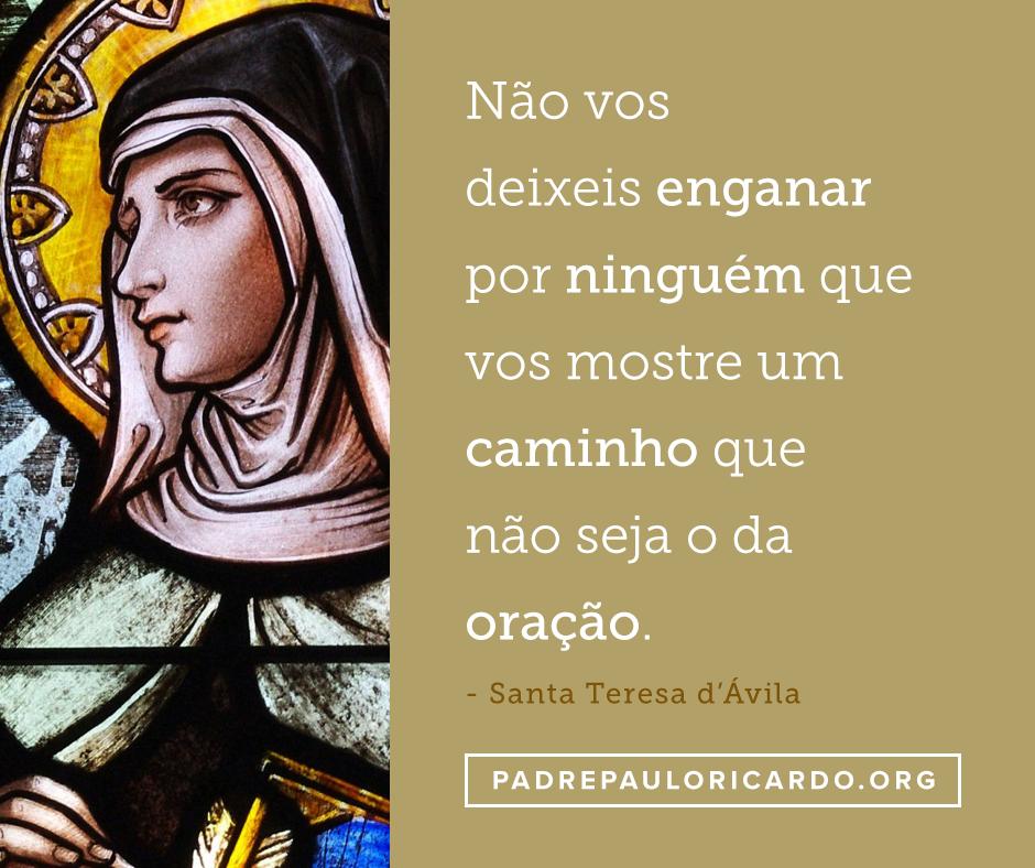 Santa Teresa Dávila Santa Teresa De Jesus Frases Catholicism