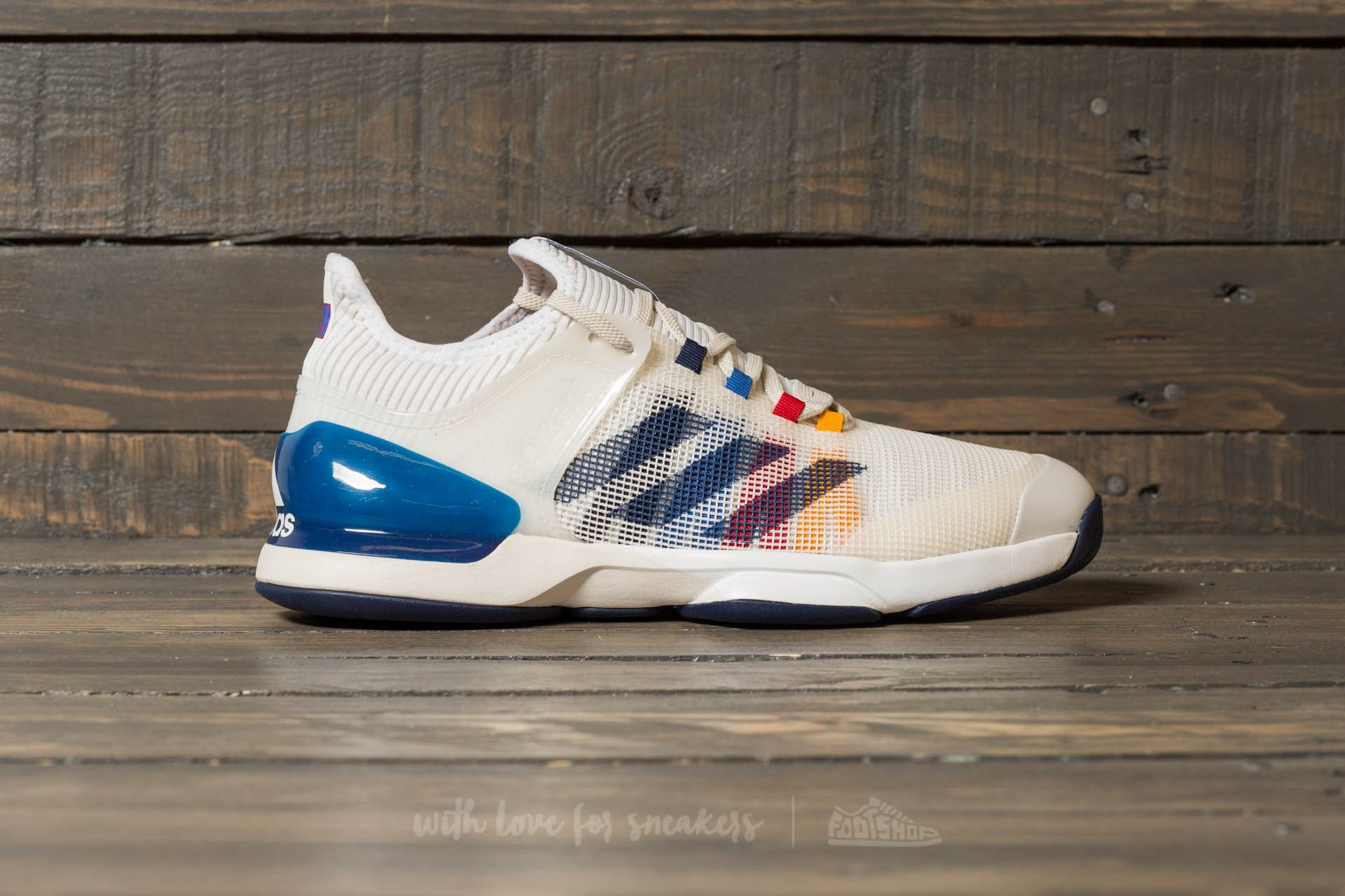 a56d774729623 adidas x Pharrell Williams Us Open adizero ubersonic 2 PW Footwear White   Dark Blue  Scarlet at a great price 135 € buy at Footshop