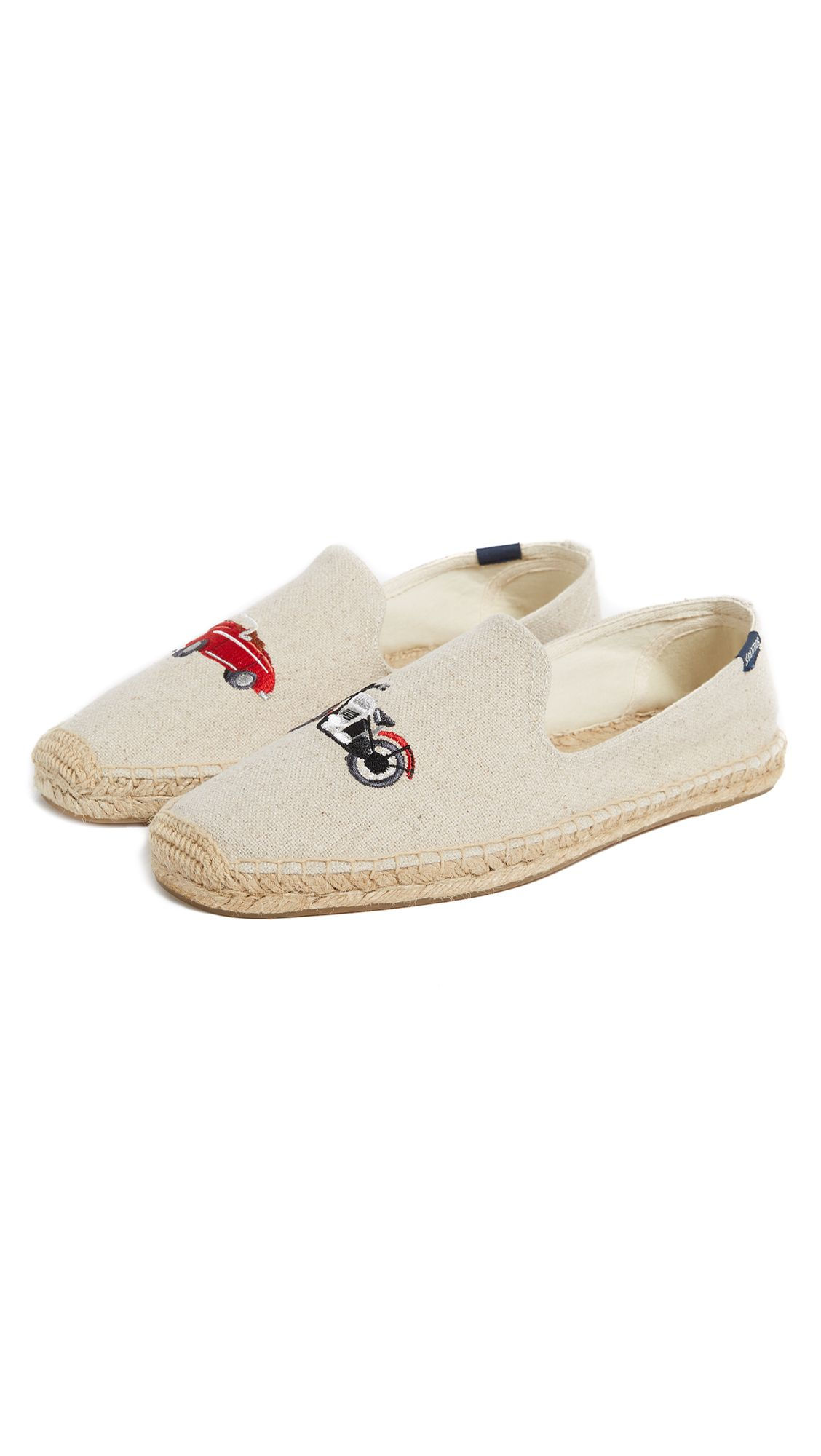 6bb4dc381e SOLUDOS X LUCY MAIL CAR & MOTORCYCLE ESPADRILLES. #soludos #shoes ...