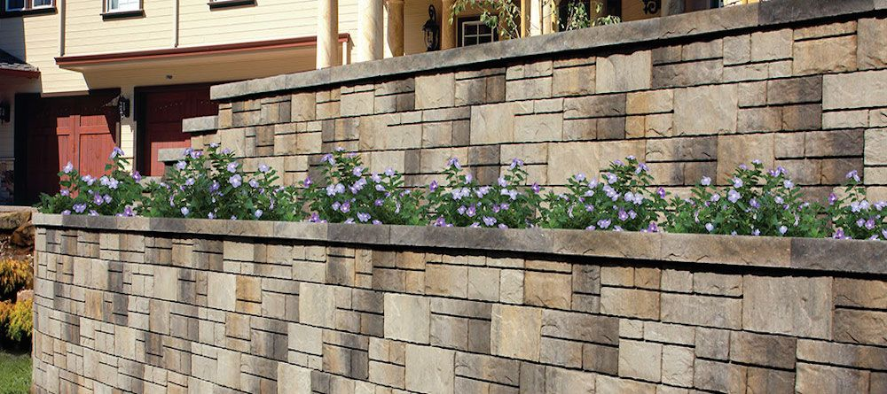 The 2017 Belgard Retaining Wall Installation Guide For Homeowners