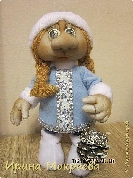 Школа кукольного мастерства Елены Лаврентьевой: МК Снегурочка. автор  Ирина…