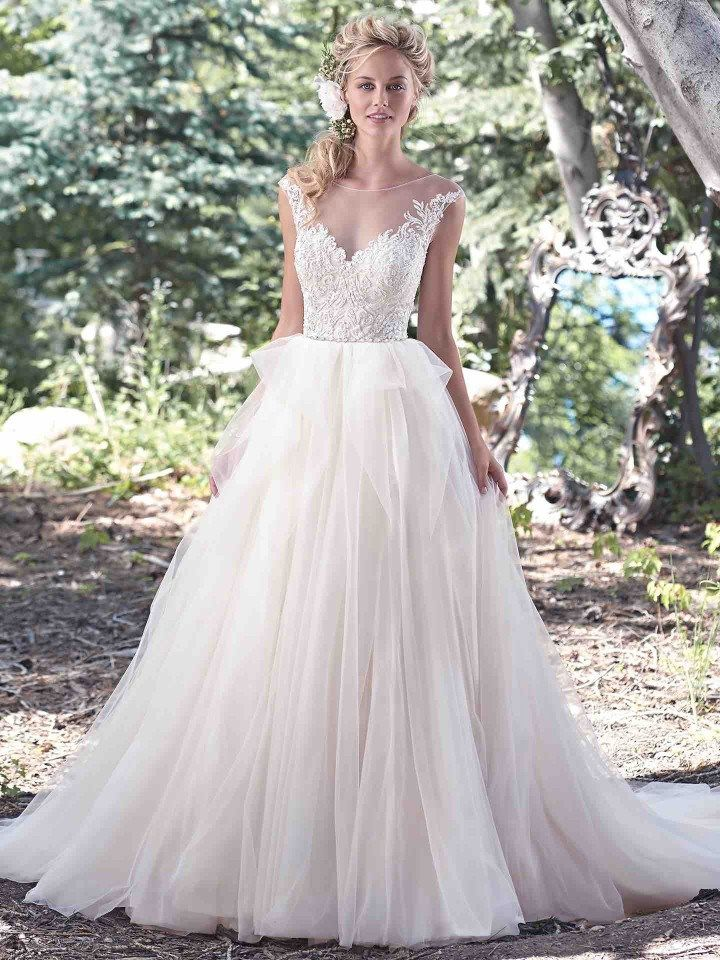 Maggie Sottero Wedding Dresses With Modernly Chic Glamour