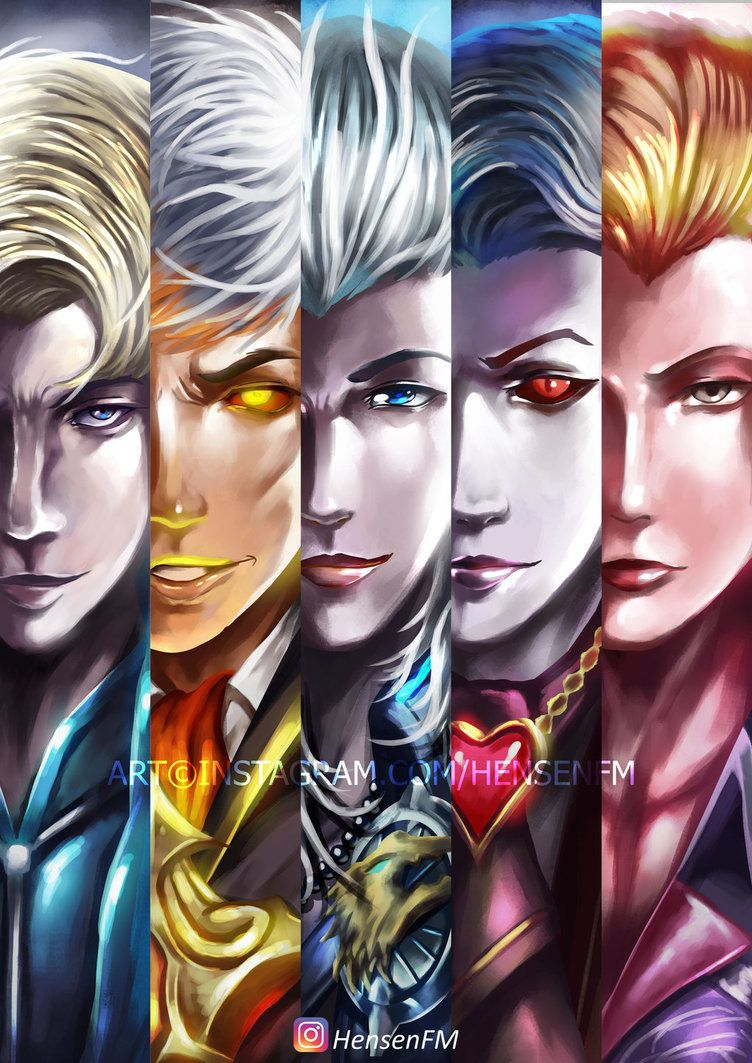 Alucard All Skin By Hensenfm Mobile Legends Ml Di 2018