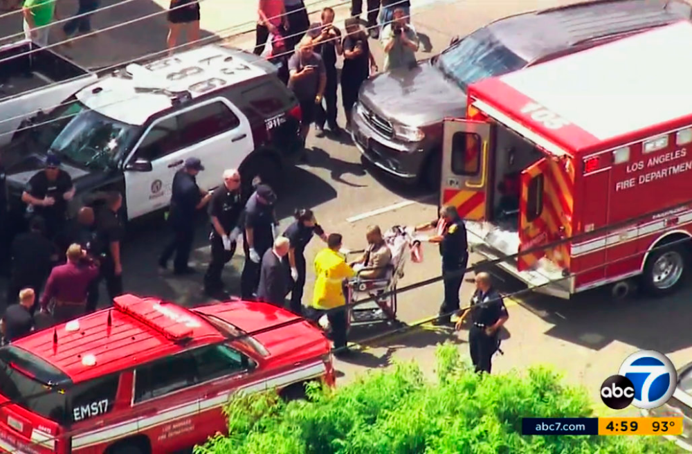 Four People Shot Dead Two Wounded In La Shooting Spree Spree Los Angeles Perfect Strangers