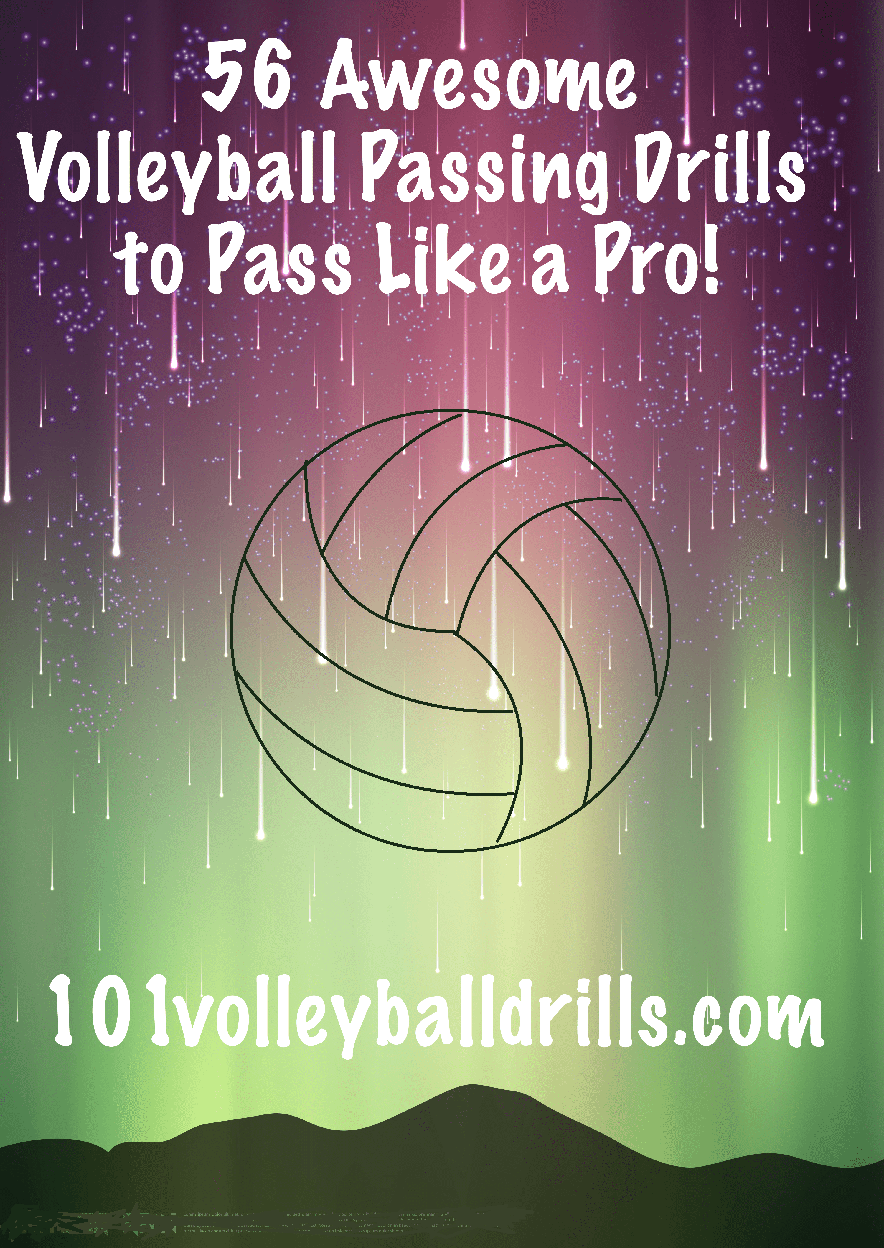 56 Awesome Volleyball Passing Drills To Pass Like A Pro Volleyball Passing Drills Volleyball Practice Volleyball Skills