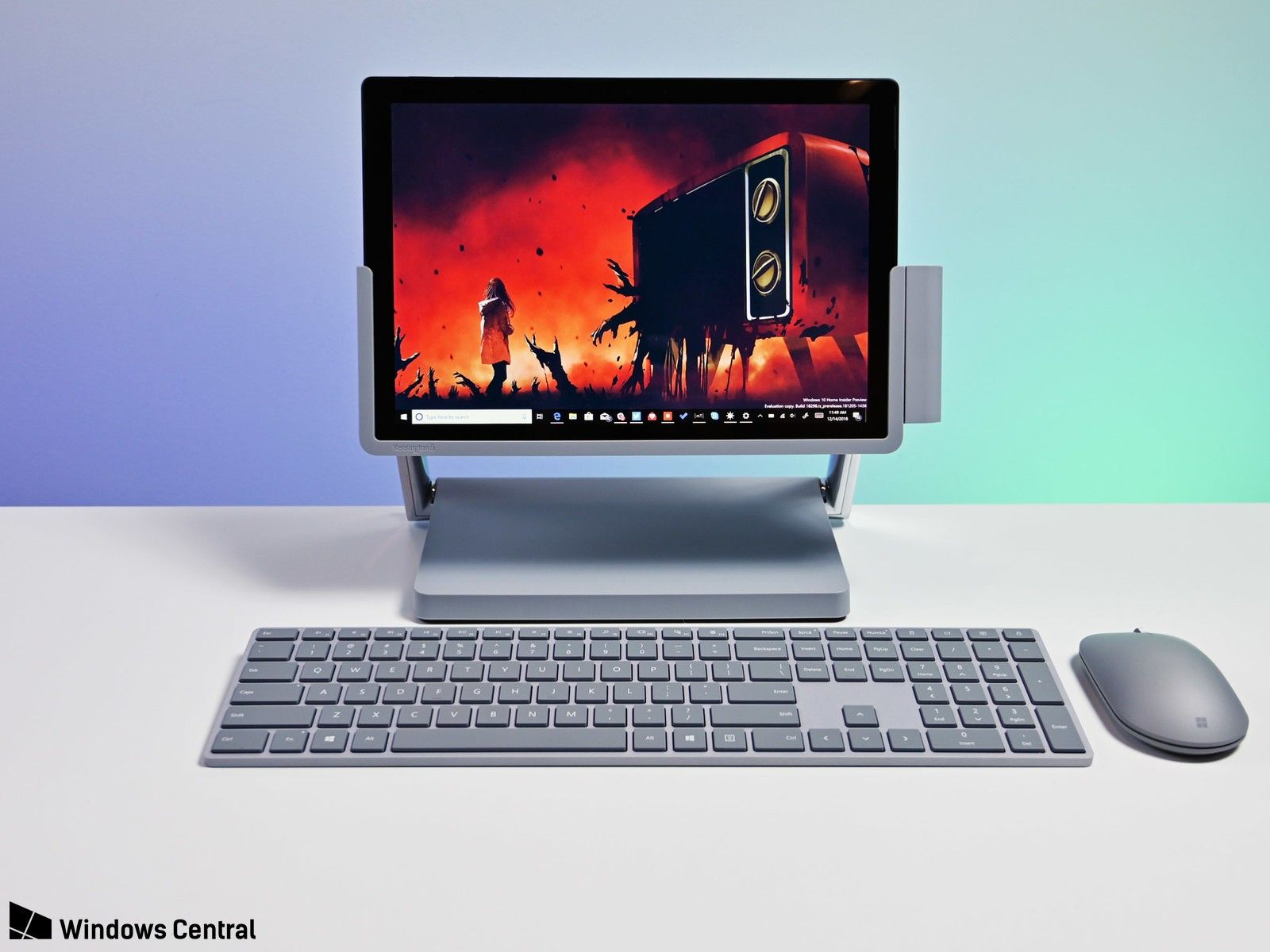 This dock turns your Surface Pro into a mini Surface Studio