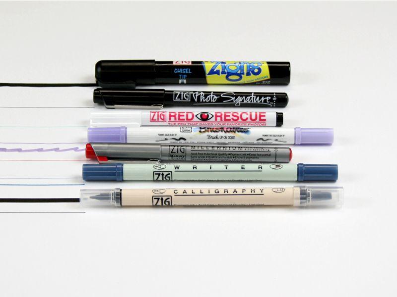 Introduction To Scrapbooking Pens Image 1 Scrapbooking