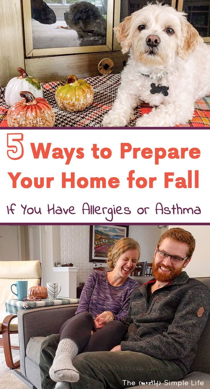 5 Ways to Prepare Your Home for Fall If You Have Allergies