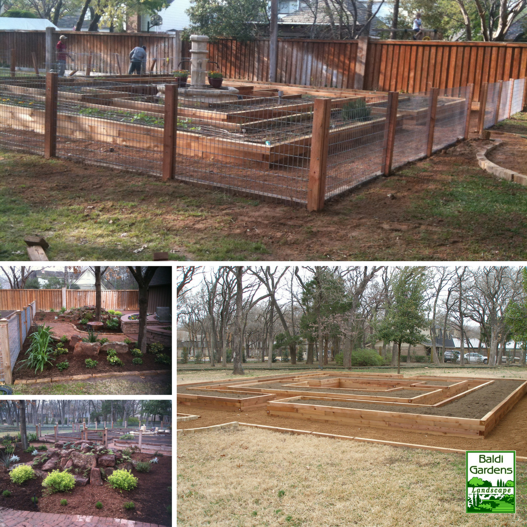 One of our most extensive raised garden projects we have ever done ...