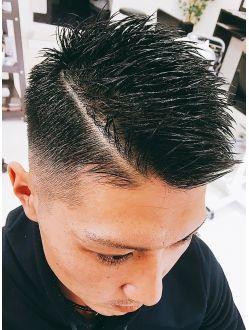 メンズスタイル フェードカット ヘアカット ヘアスタイル 髪型