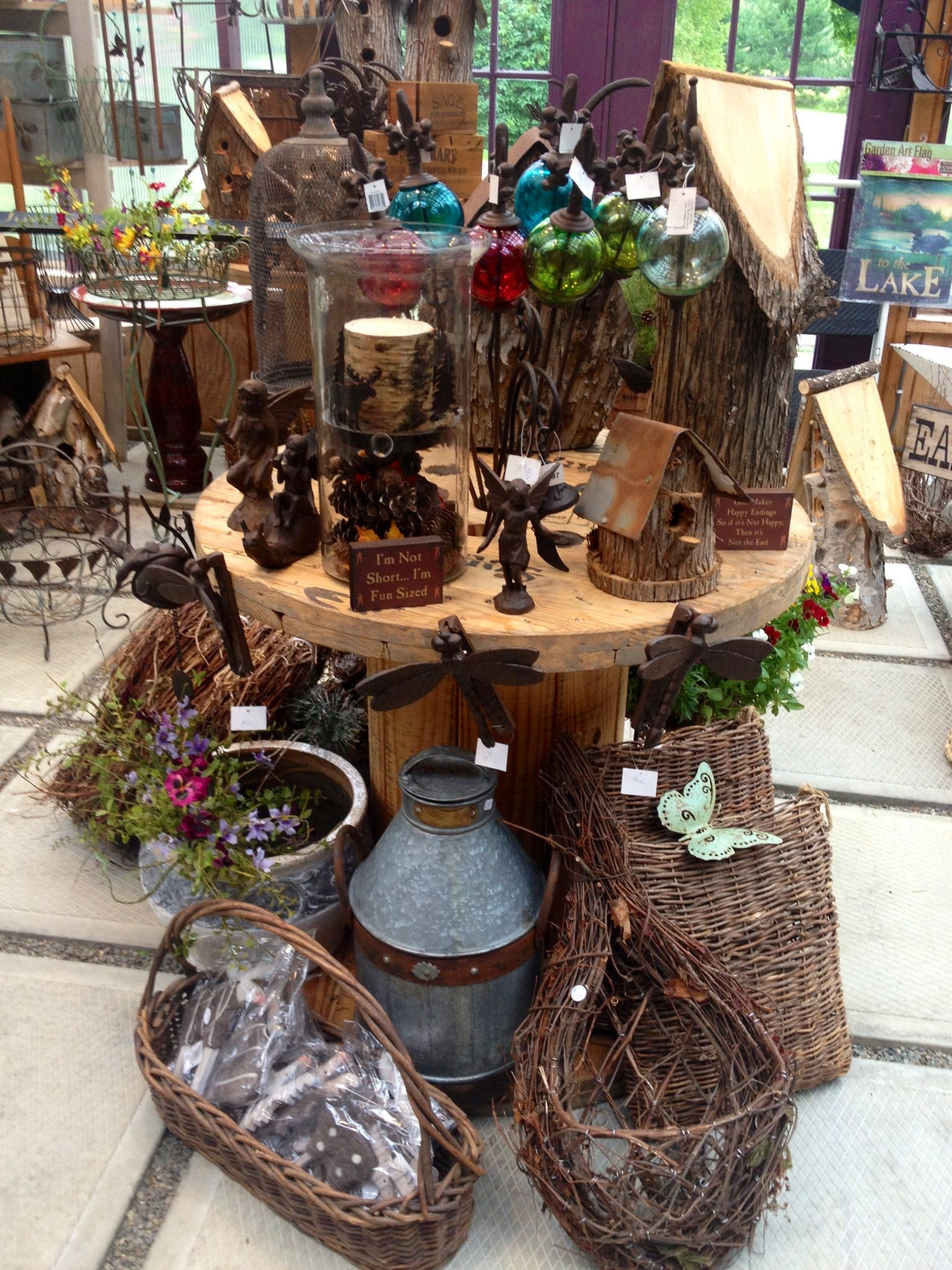New Shipment Of Cast Iron Garden Decor Including Garden Fairies At  Ravenswood Gifts! Be Sure