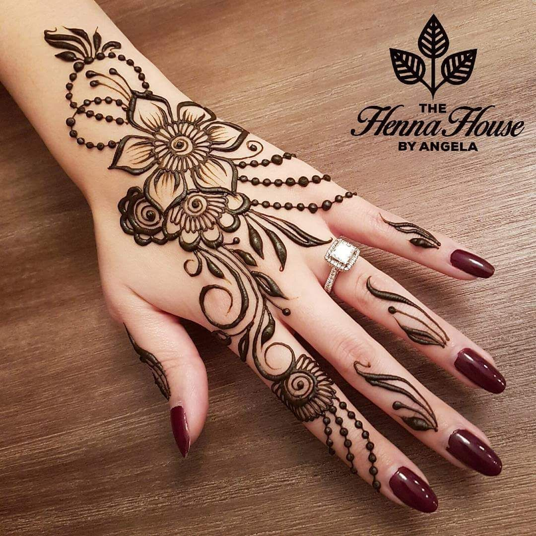 Pin de Manjit Judge en Heena Design | Pinterest | Henna, Tatuajes de ...