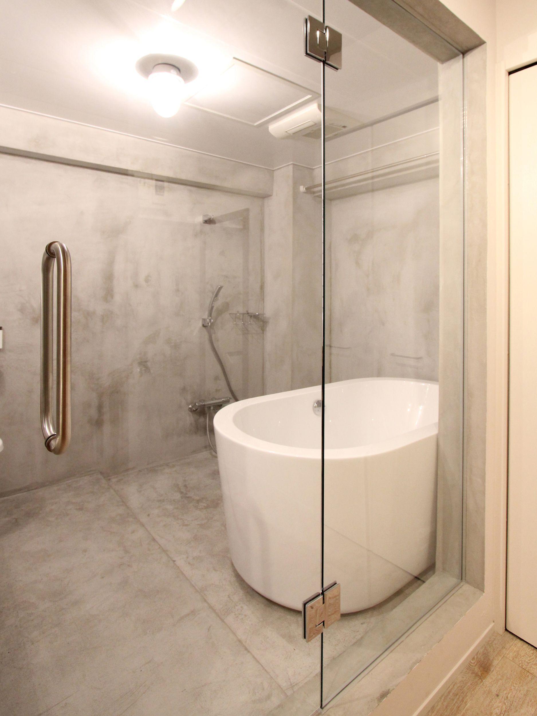 ホテルライクなバスルームに バスルーム リビング キッチン トイレ
