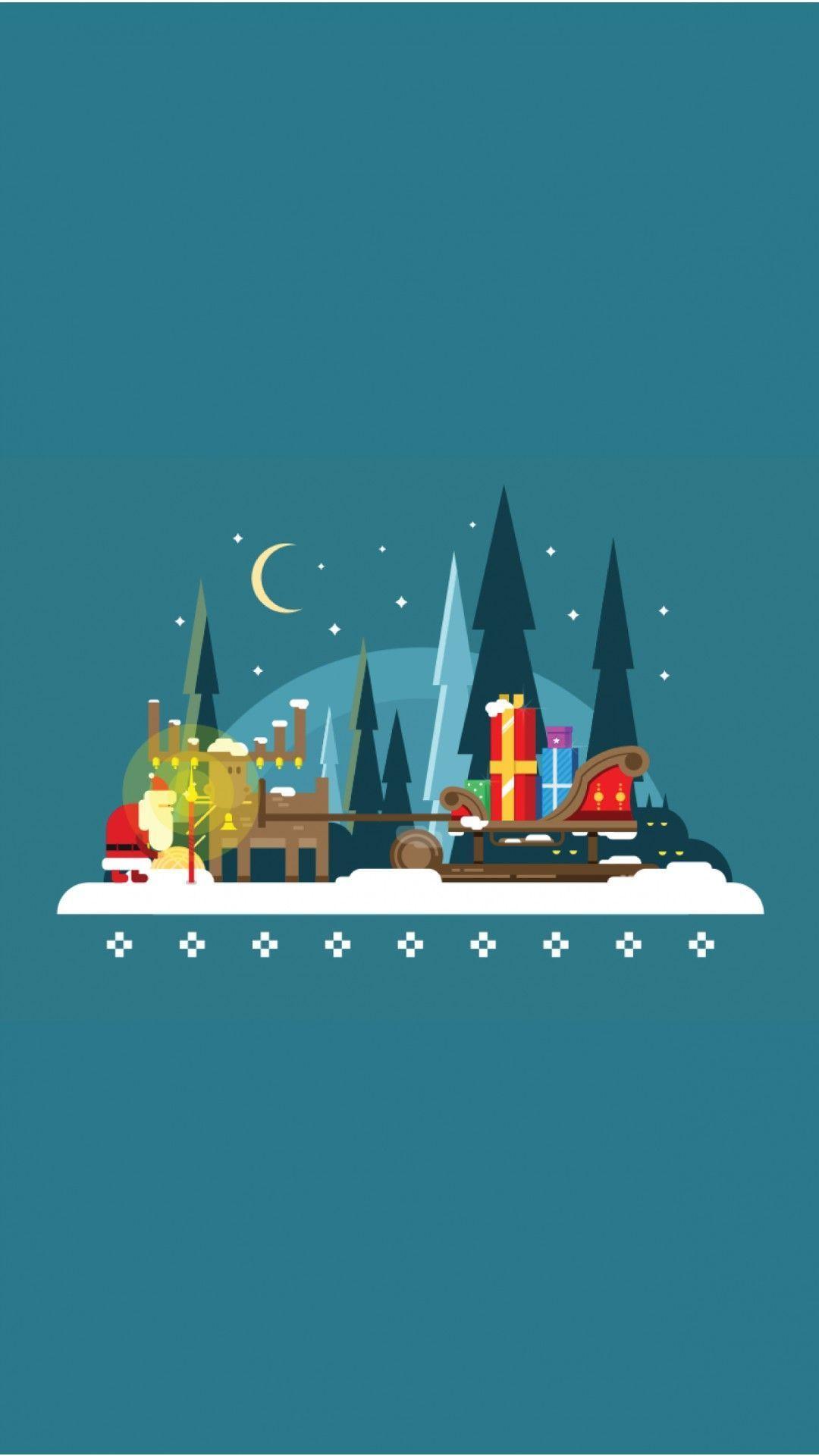 40 Minimalist Christmas Wallpapers For Desktop And Iphone Wallpaper Iphone Christmas Christmas Wallpaper Tree Wallpaper Iphone