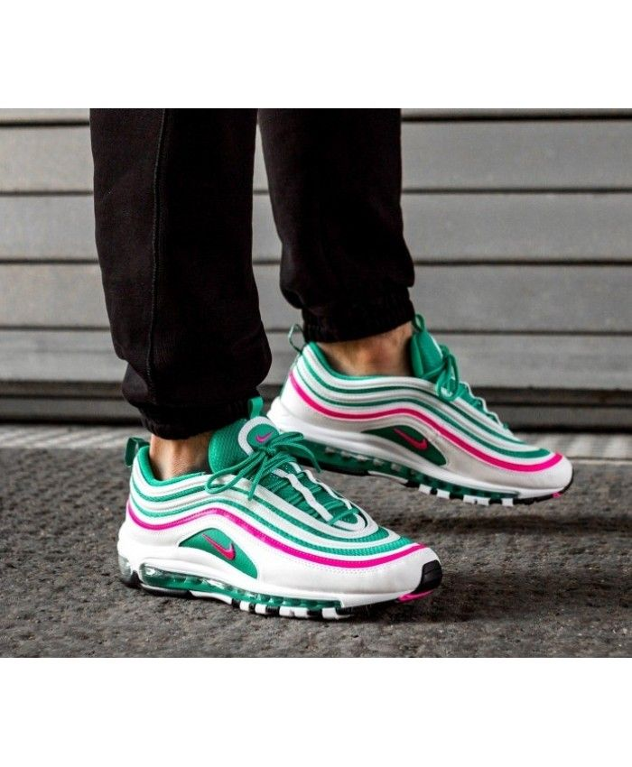 ... authentic nike air max 97 white pink green black trainers ce73a b9dc4 75f758c9a