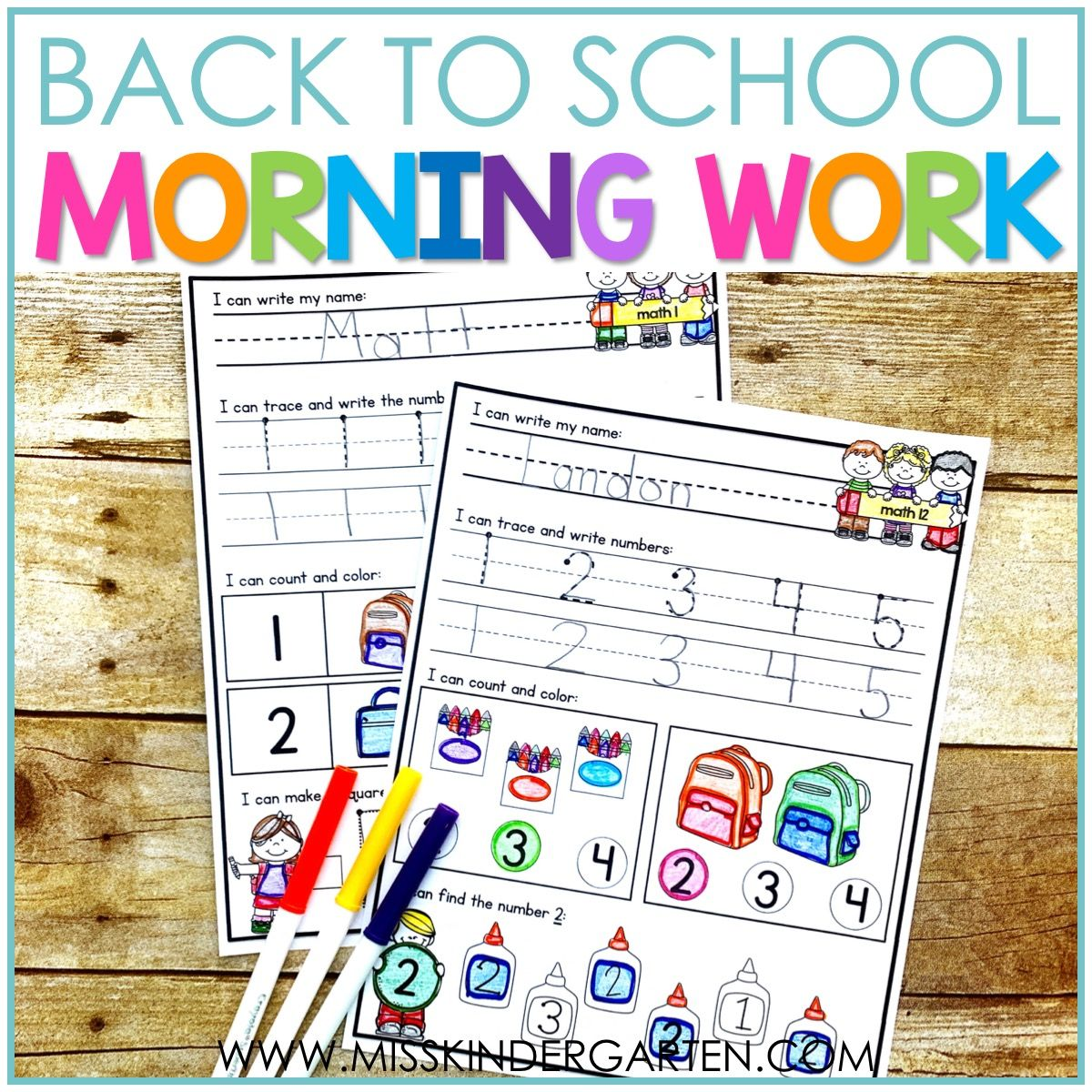 I Am So Excited About This Morning Work It Has Been On My To Do List For Almost Morning Work Kindergarten Free Graphing Kindergarten Kindergarten Morning Work [ 1200 x 1200 Pixel ]