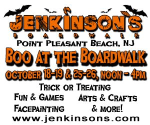 Boo at the Boardwalk GIVEAWAY at Jenkinson's Boardwalk