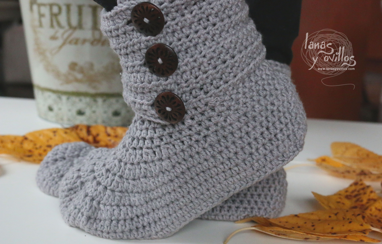 BOTAS ADULTO | Lanas y ovillos | Zapatos | Pinterest | Lana ...