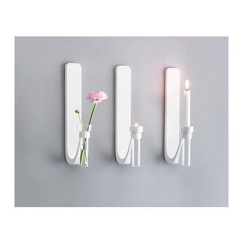 KNIVIG Wall Sconce/vase IKEA You Can Choose To Use KNIVIG As A Candlestick,