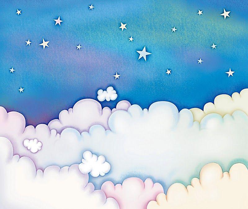 Fondos de nubes infantiles imagui bebes pinterest - Imagenes de nubes infantiles ...
