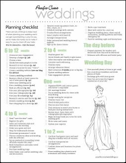 wedding planning checklist pdf quelles astuces pour organiser votre mariage sur http. Black Bedroom Furniture Sets. Home Design Ideas
