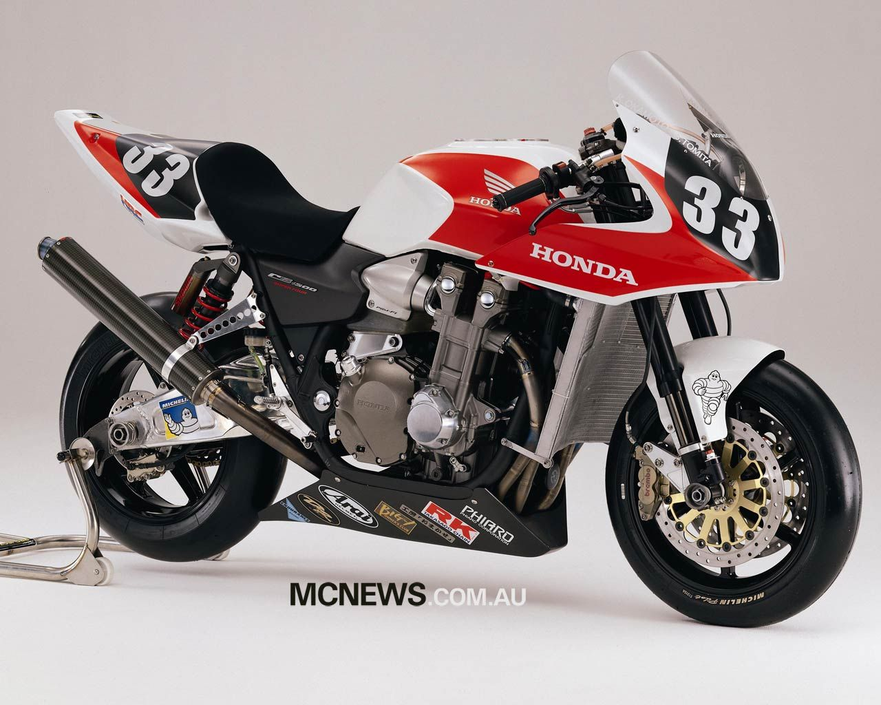 Cb1300 Racer Now It Looks The Biz Motorcycling