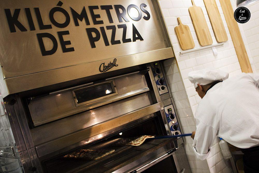 Kilómetros de Pizza Madrid
