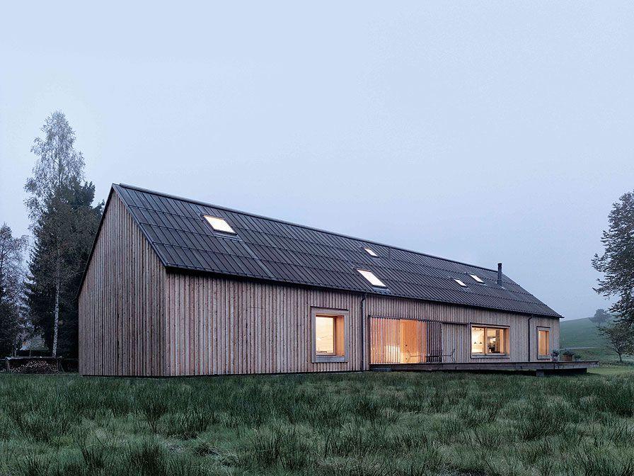 Moderne holzhäuser architektur  Haus am Moor | Architektur | Pinterest | Fassaden, Architektur und ...