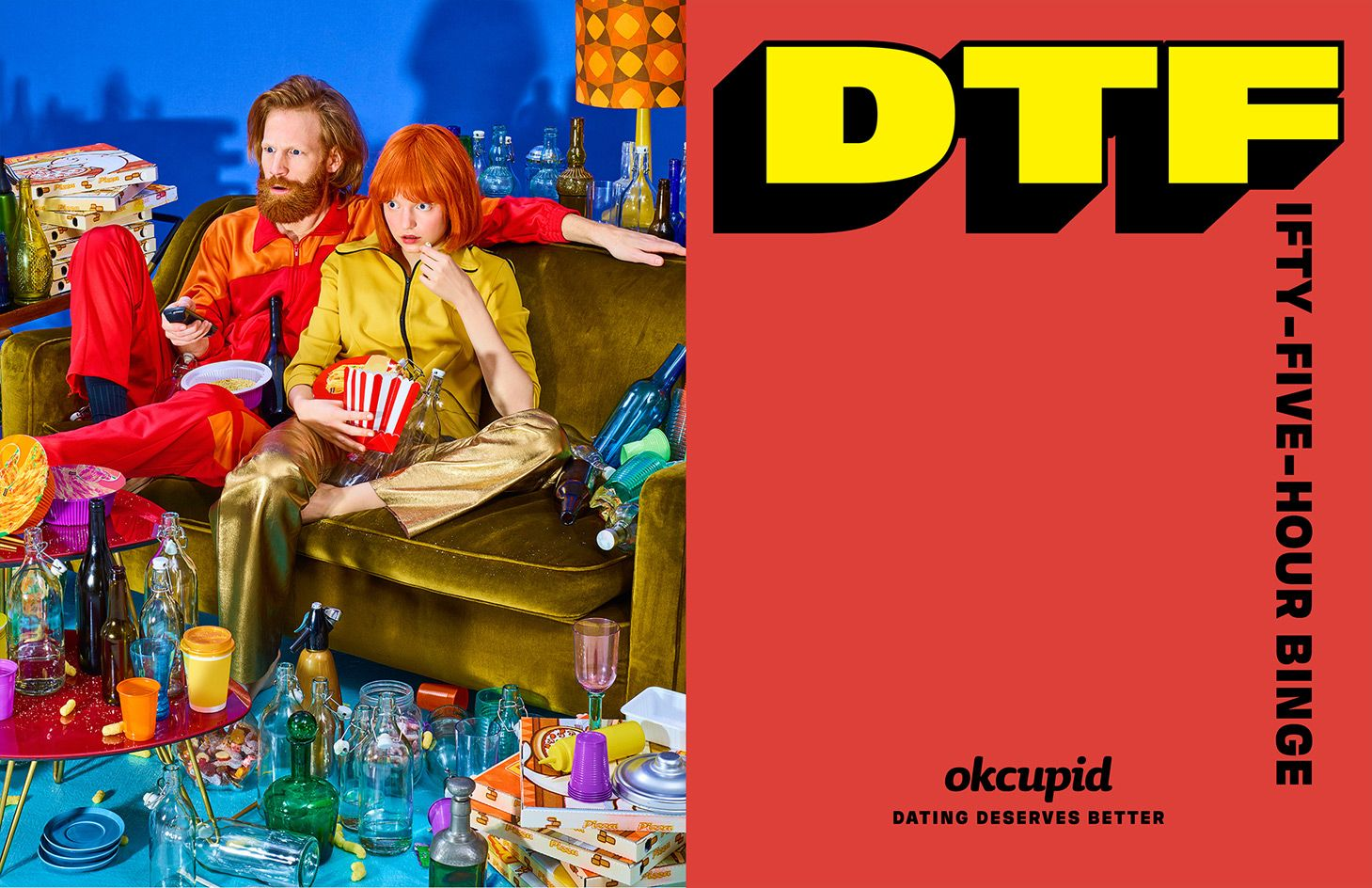 Open Letter The Artists Behind Toiletpaper Are Dtf With Okcupid Okcupid Best Advertising Campaigns Campaign