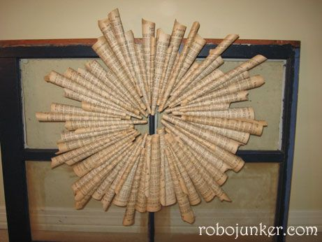 Hymnal Wreath   DIY/Crafts   Diy craft projects, Sheet ...