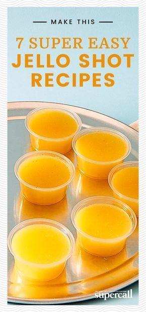 7 Super Easy Jello Shot Recipes (No, Really) #jelloshotrecipes