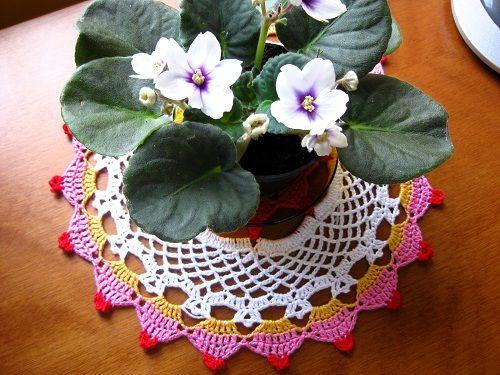 Diário de algodão: Toalhinha de croche Cupcake passo a passo
