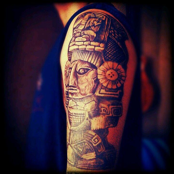 mayan tattoo inked instagram shots pinterest mayan tattoos tattoo ink and tattoo. Black Bedroom Furniture Sets. Home Design Ideas