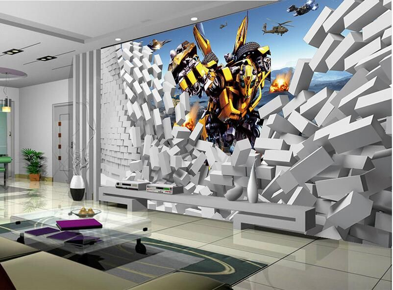 Best 3D Wallpaper Custom Mural Non Woven 3D Room Wallpaper 3 D 400 x 300
