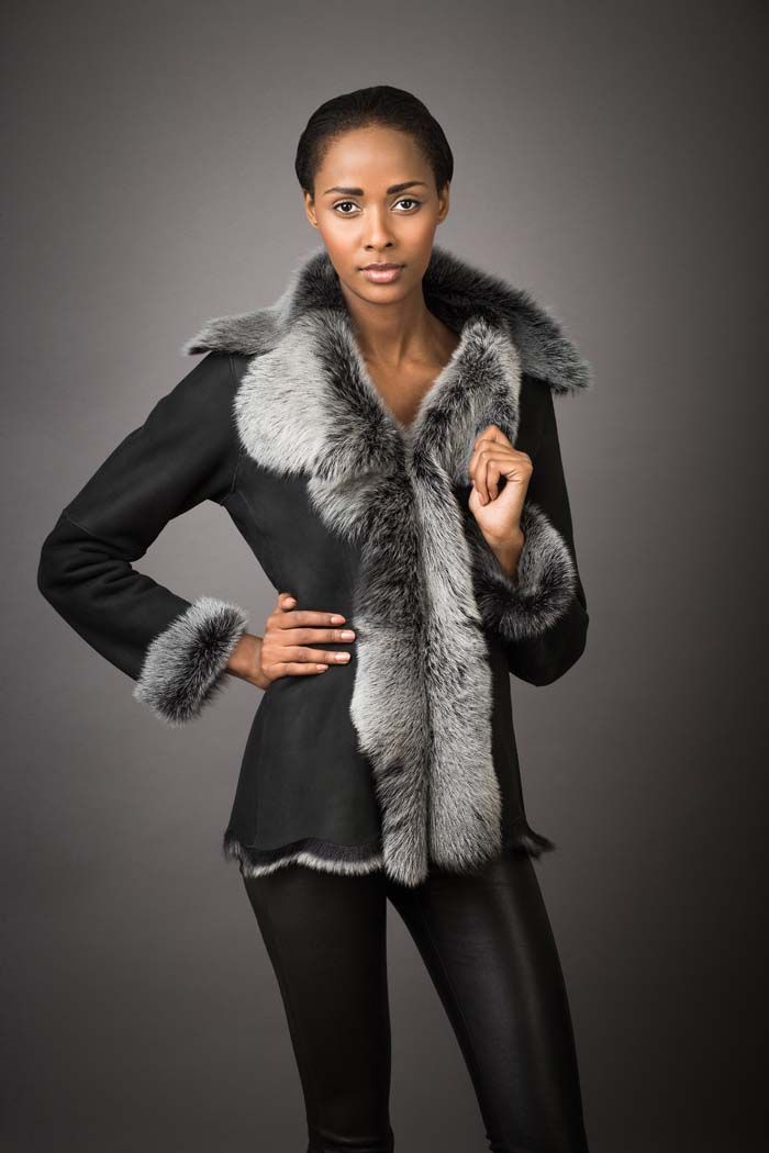 Toscana Shearling Jacket | Futra | Pinterest | Shearling jacket ...