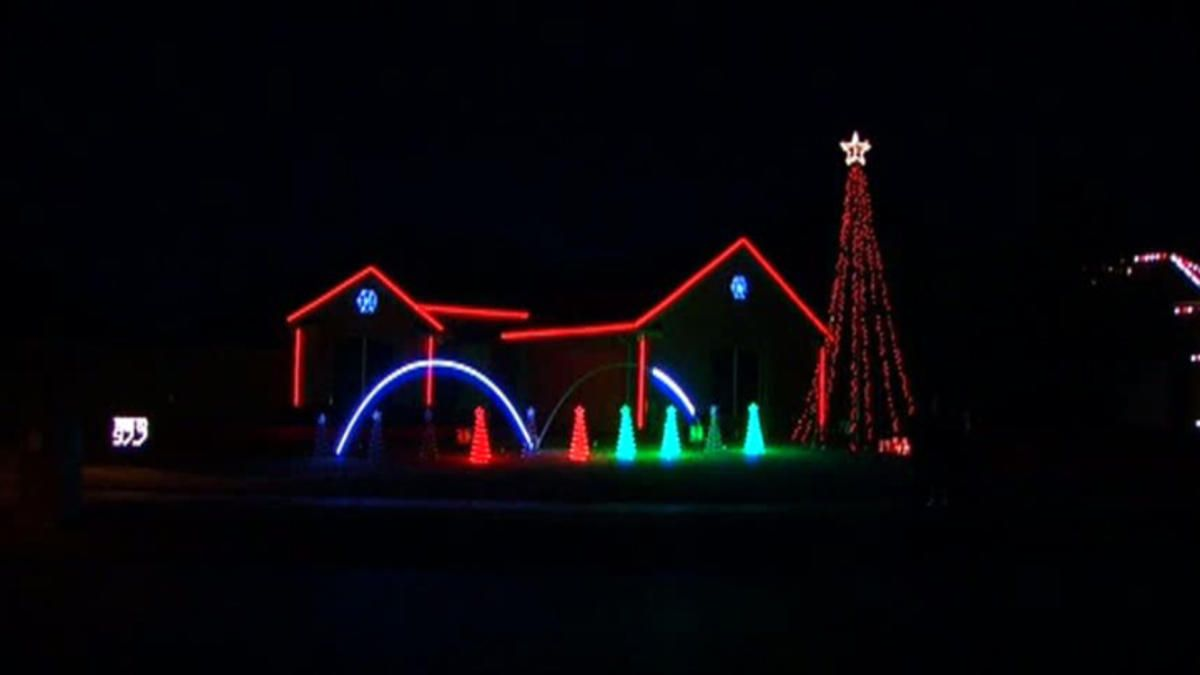 A Flower Mound Light Show To The Beat Of Christmas Flower Mound