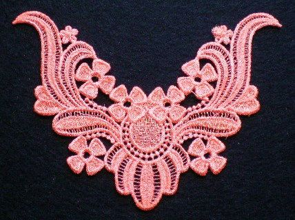 Beautiful Embroidered Neckline Lace от ElsieMichelleDesigns