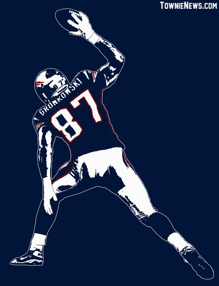 GRONK SPIKE with bug for store | New England Patriots | New England